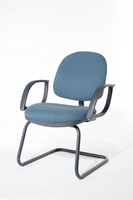 teal meeting chair