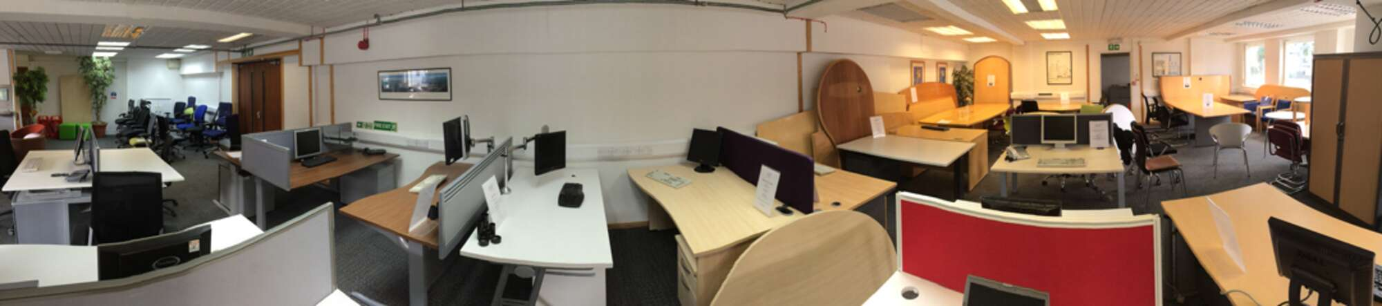 High quality office furniture available at a fraction of the cost of new