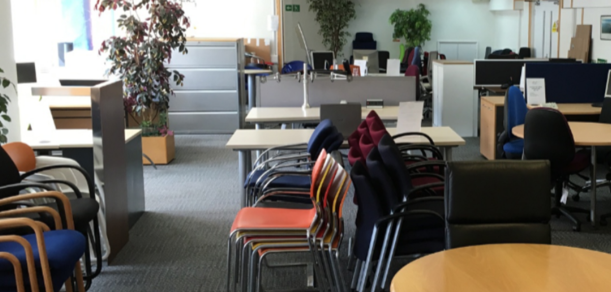 Used office furniture in Slough