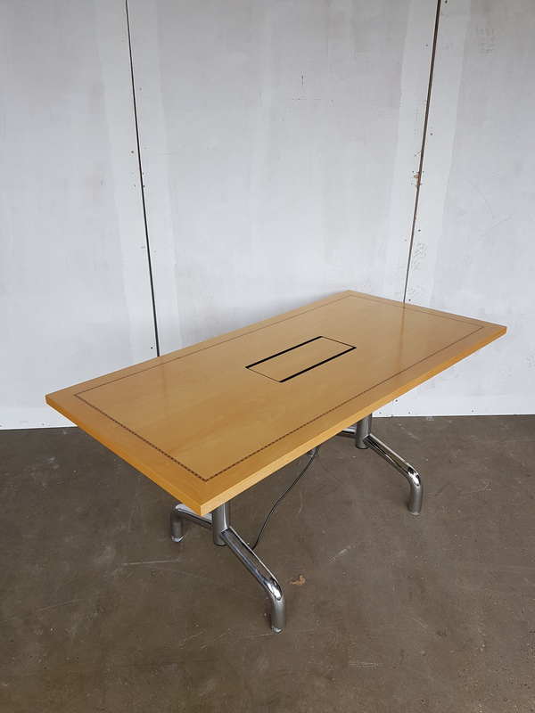 1500 x 750mm Tula rectangular flip top table CE