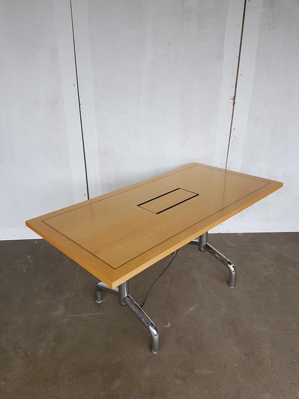 1500 x 750mm Tula rectangular flip top table CE