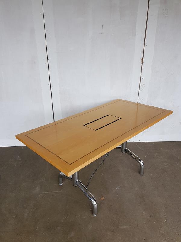 1800 x 750mm Tula rectangular flip top table (CE)