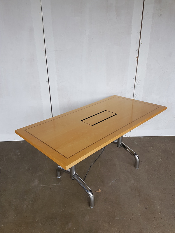 1800 x 750mm Tula rectangular flip top table CE