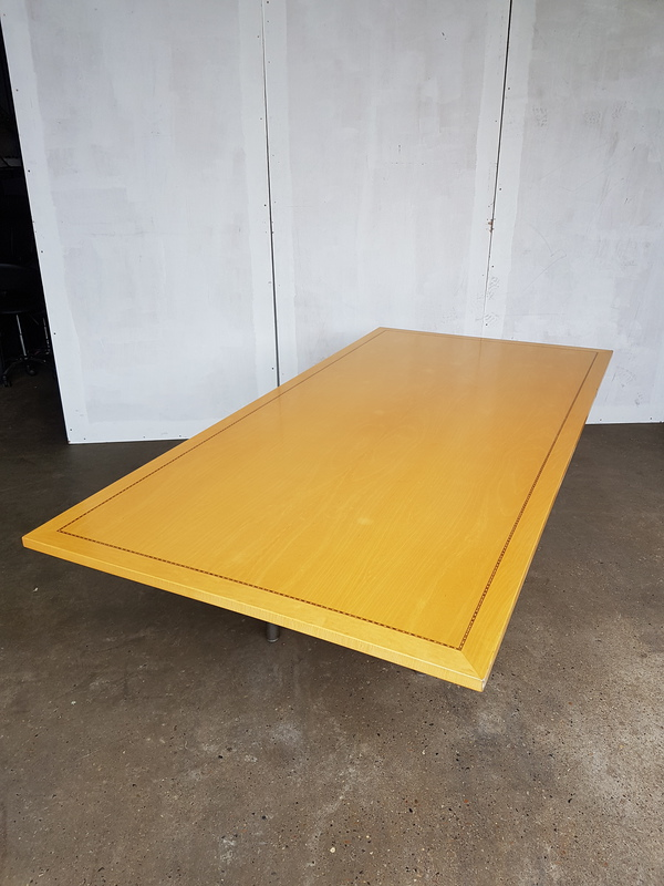 4500 x 1350mm Tula rectangular Boardroom table CE