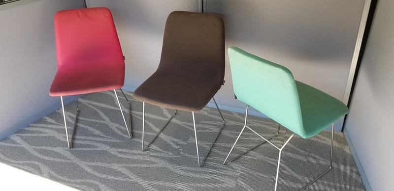 Modus skid base meeting chairs