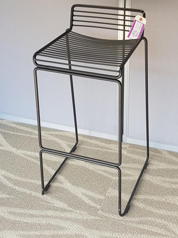Dark wire stools