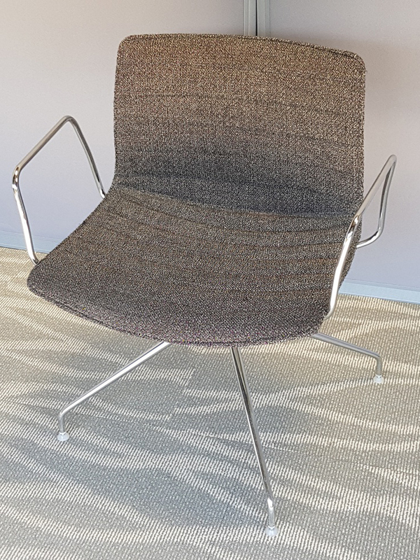Grey Arper Catifa 46 chair