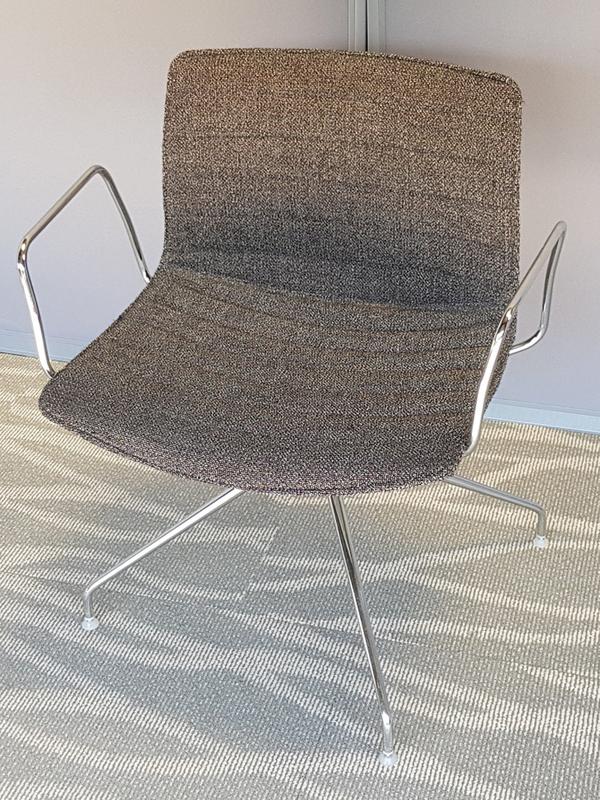 Grey Arper Catifa 46 chair