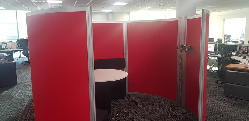 Orangebox Airea open top meeting pod
