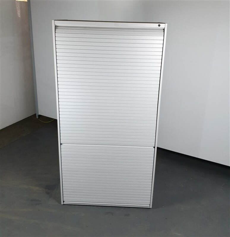 Light Grey Metal Roller Shutter