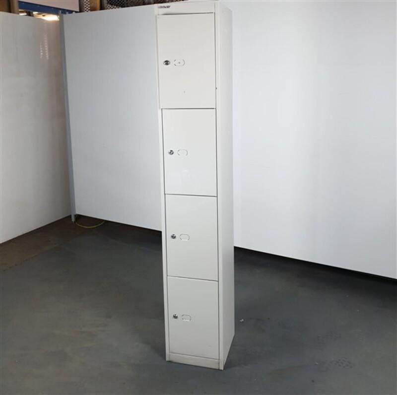 Bisley Grey Metal Lockers