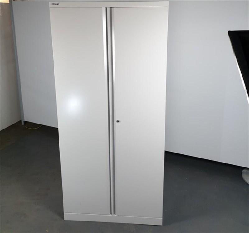 Bisley Metal Cupboard Grey Tall