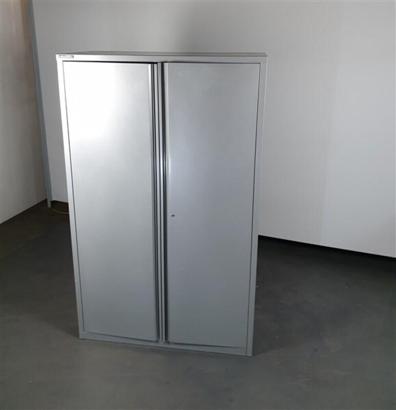 Haworth Grey Metal Cupboard