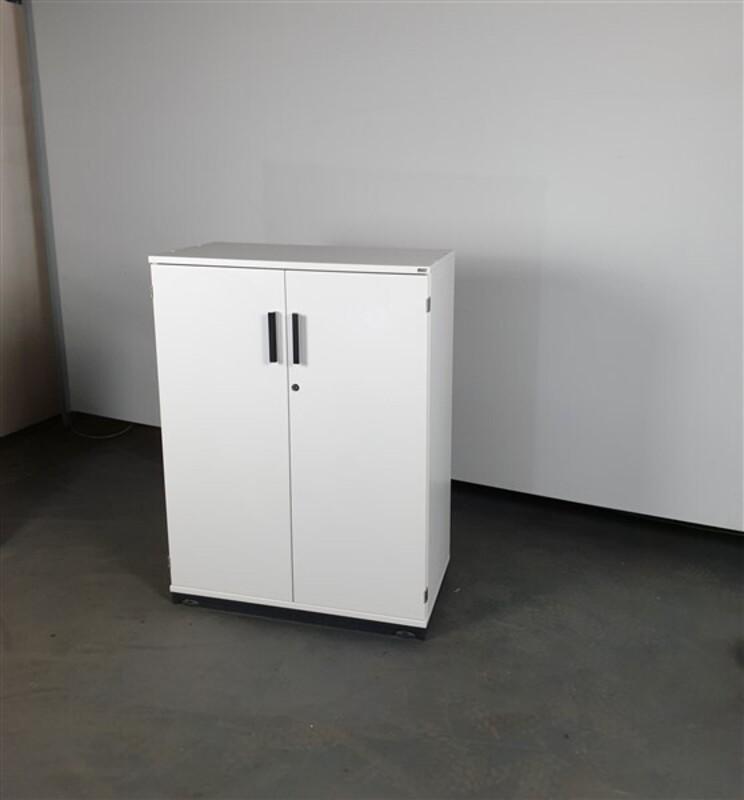 Kinnnarps White Wood Cupboard