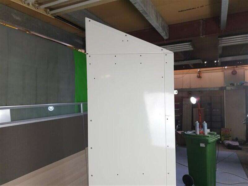 White Metal Locker unit