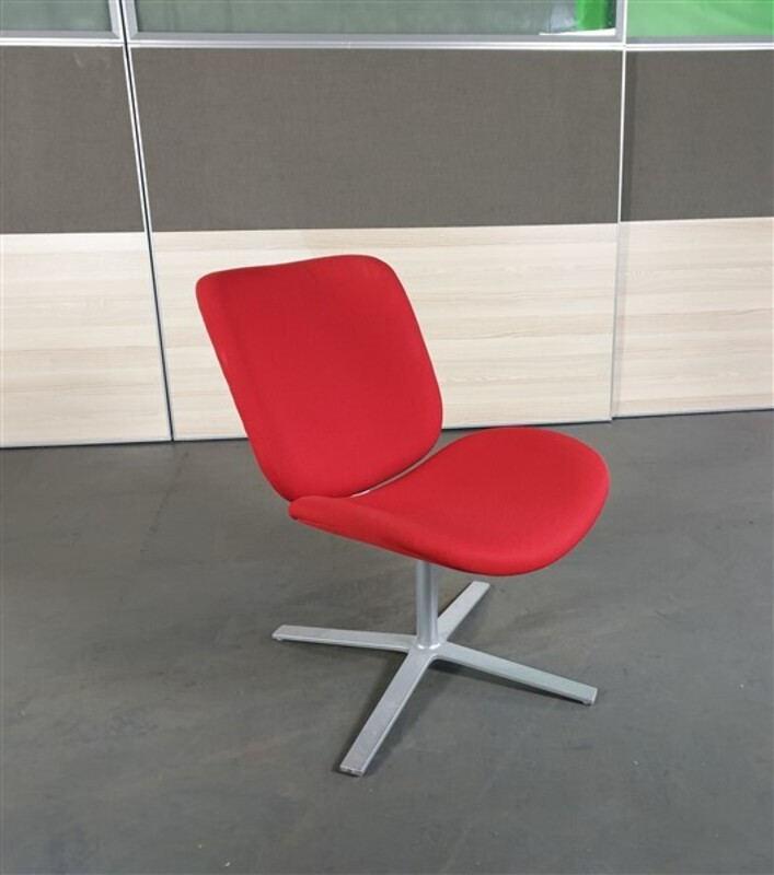 Red Breakout Fabric Chair