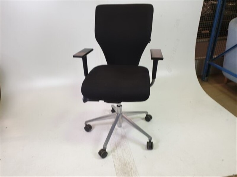 Orangebox X10 Black Fabric Chair