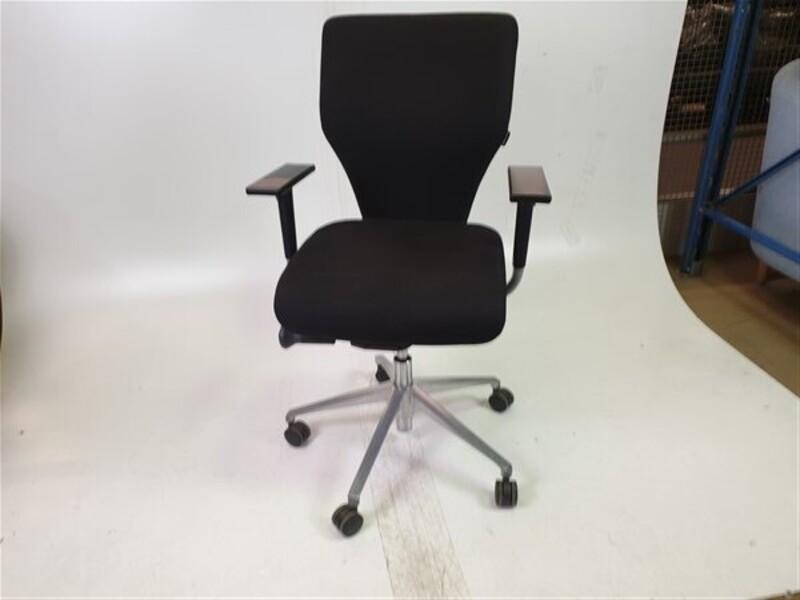 Orangebox X10 Black Fabric Chair