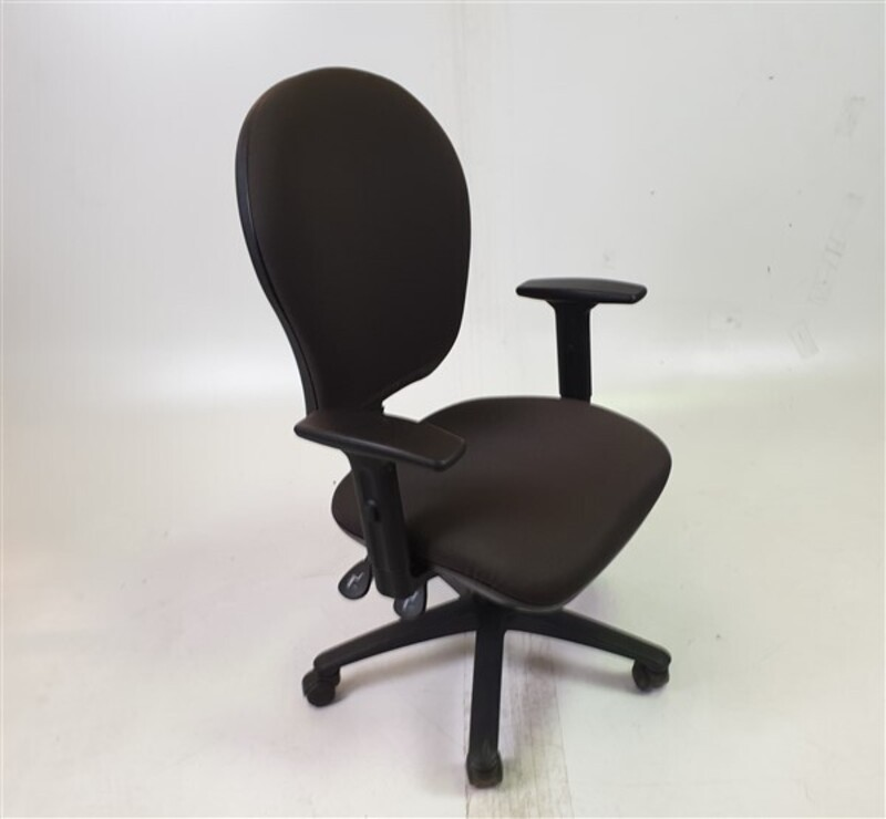 Glenside Graphite Fabric Chair