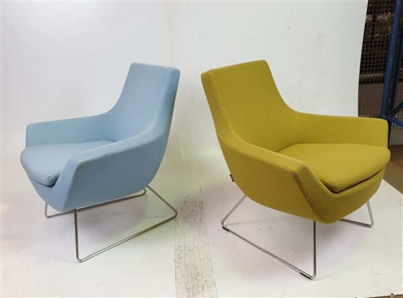 Swedese Blue amp Green Soft Seating