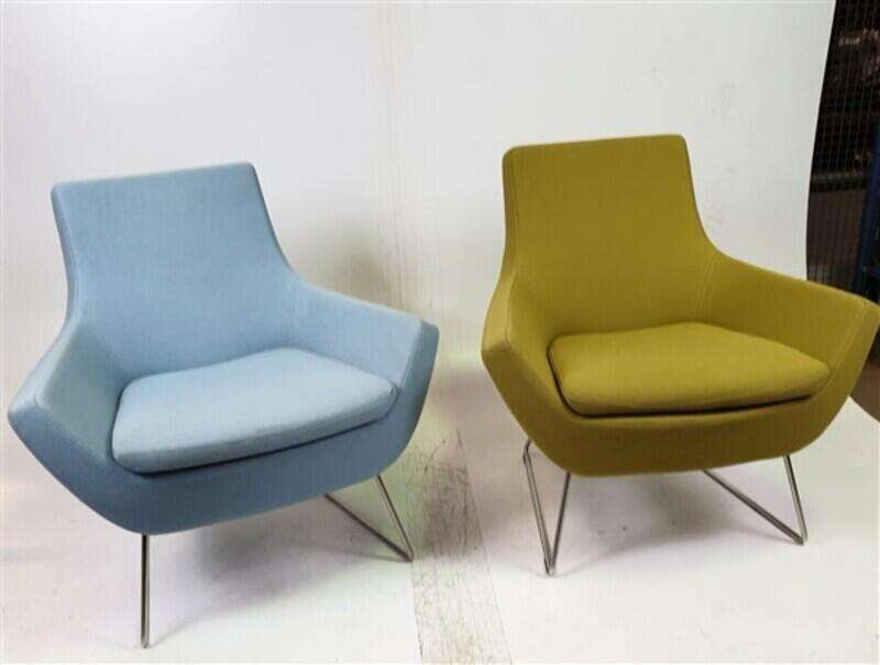 Swedese Blue & Green Soft Seating