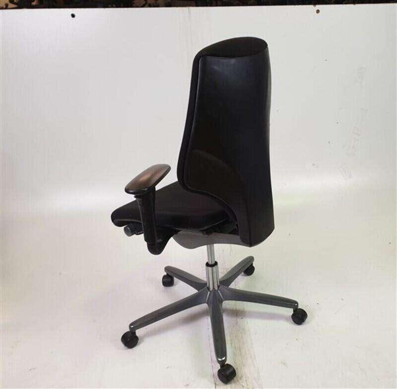 Giroflex G64 Black Fabric Adjustable Chair