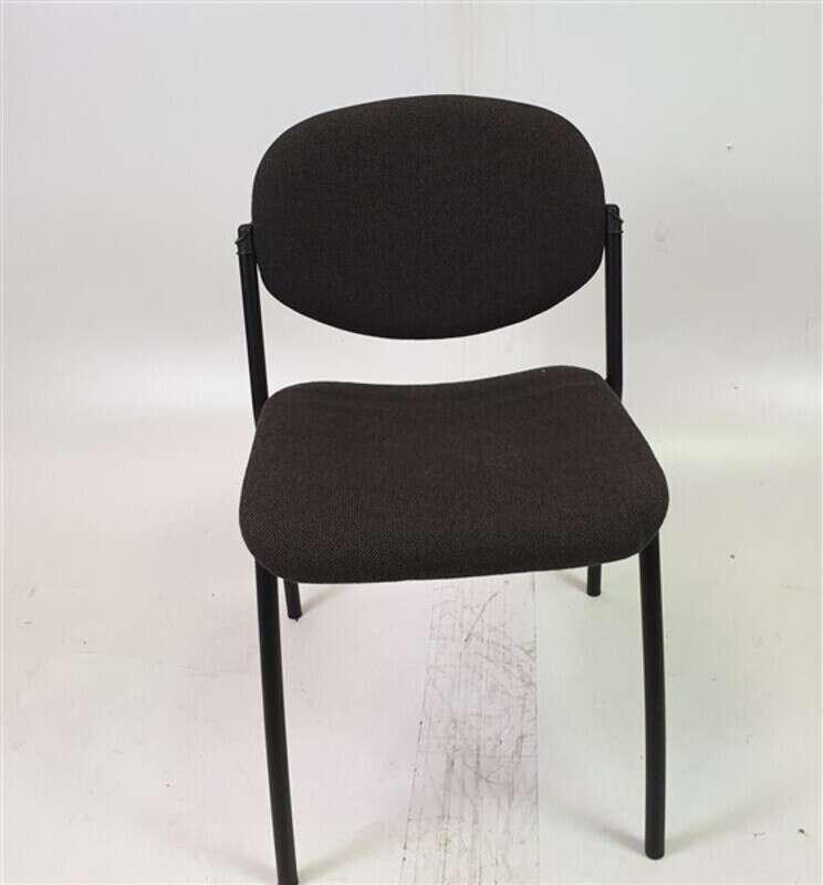 Grey Fabric Meeting Chair