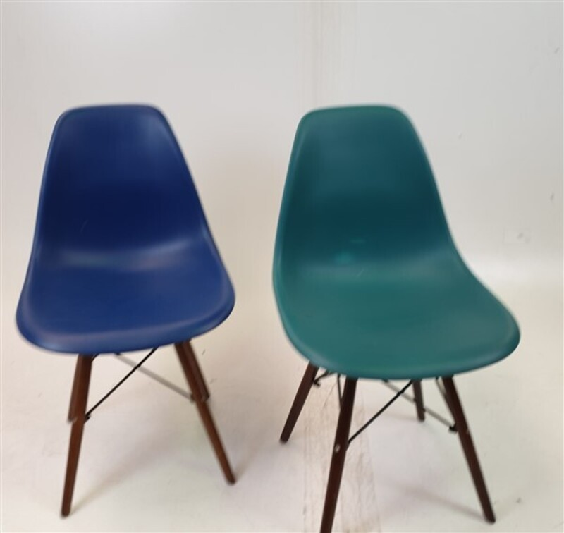 Non-stacking Chair Green, Blue & Red