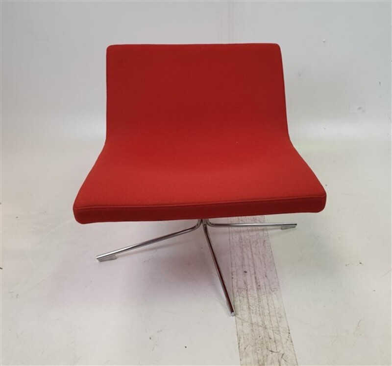 Offecct  Orange Fabric Chair