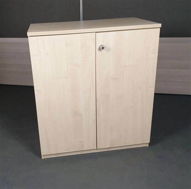 Maple Wooden Cupboard High