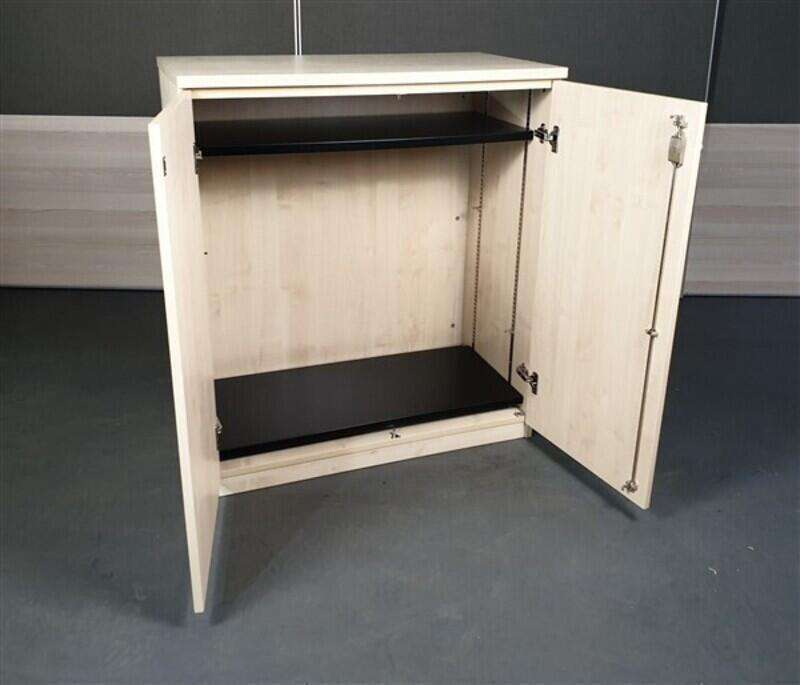 Maple Wooden Cupboard High