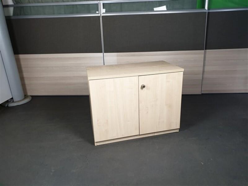 Maple Cupboard Desk High