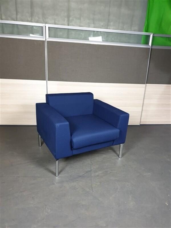 Genuine Boss Royal Blue Chair