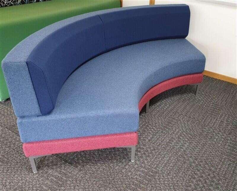 Ocee Henray Curved Sofa