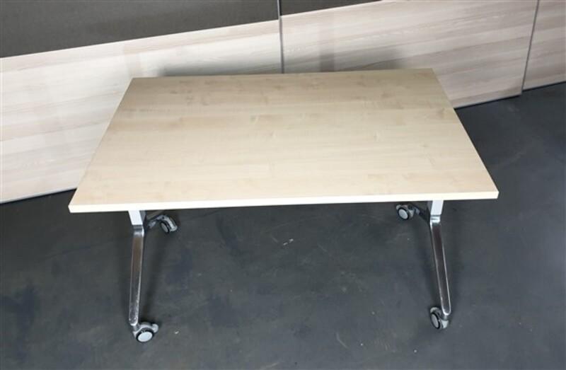 Maple flip top table