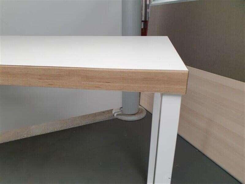 High white bench