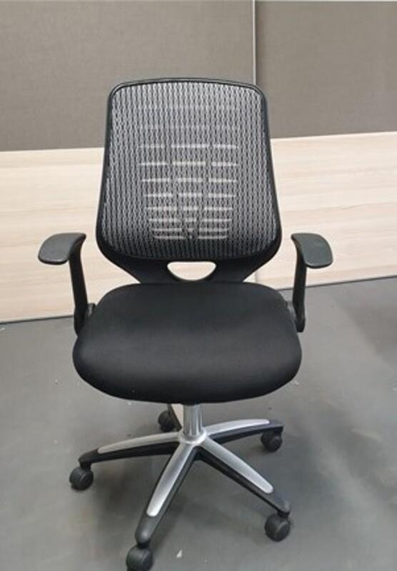 Mesh back chair