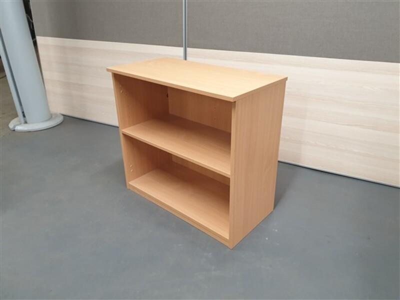 Beech Wood Bookcase Adjustable Shelf