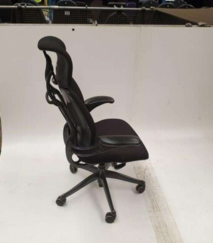 Humanscale black task chair