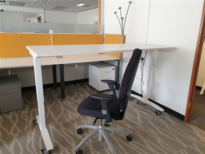 Executive Package Plus  electric desk and choice of chair