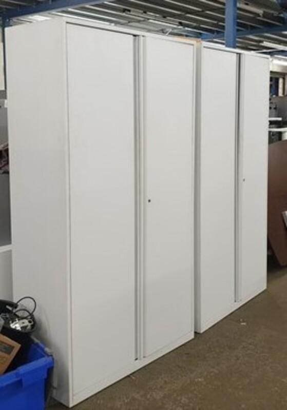 White metal cupboard 1880h