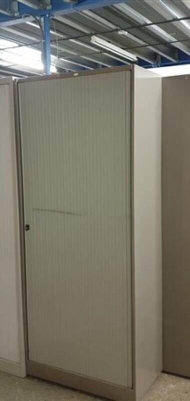 Single door metal tambour 1950h