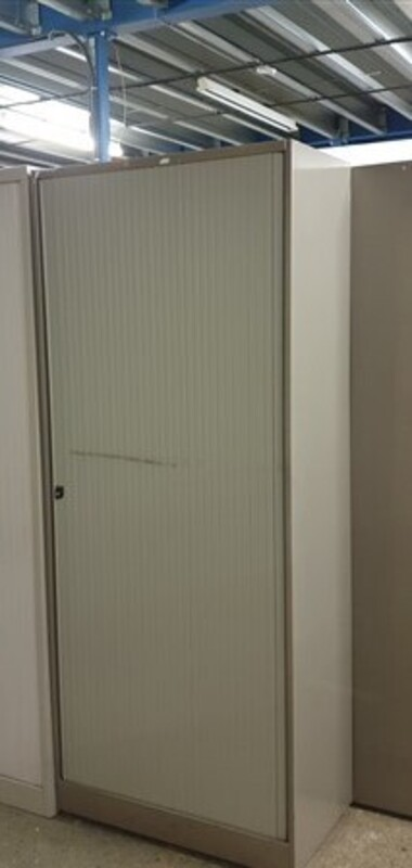 Single door metal tambour 1950h