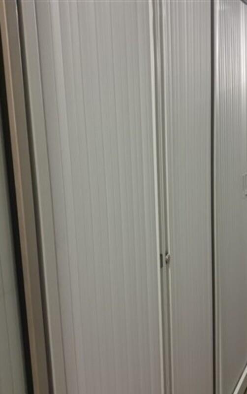 2 door metal tambour 1980h