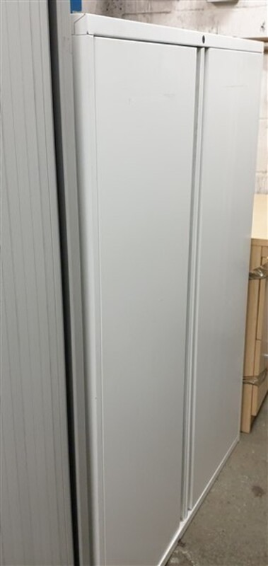White metal cupboard 1310h