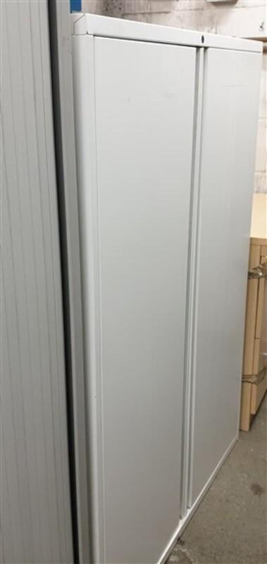 White metal cupboard 1310h