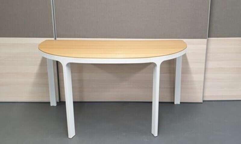 Oak nbspwhite conference table