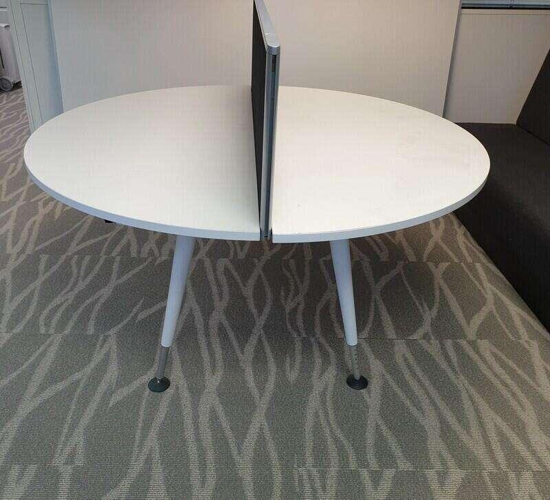 Herman Miller Abak framework tables 1600 diameter