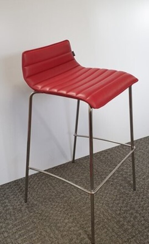 Low back red stool