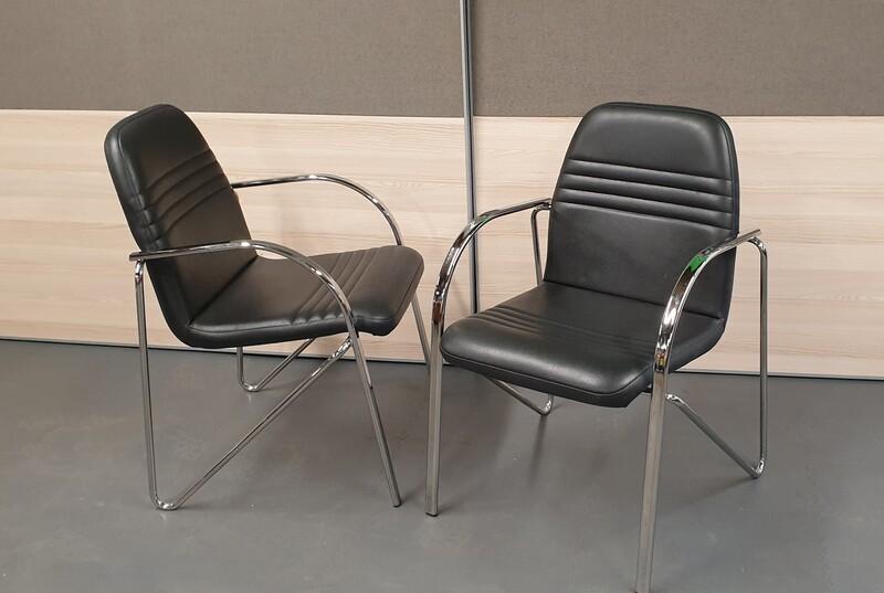 effezeta black meeting chair